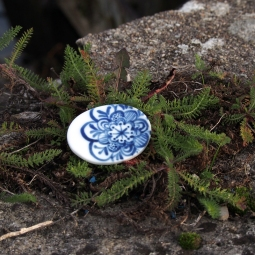 2015 - Broche Porcelaine
