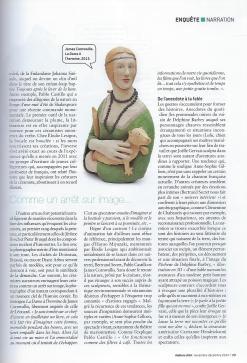 Elodie LESIGNE - Publication - Ateliers d'Arts de France - Page droite