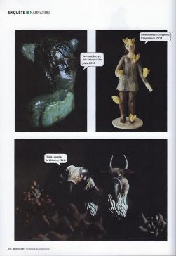 Elodie LESIGNE - Publication - Ateliers d'Arts de France - Page gauche