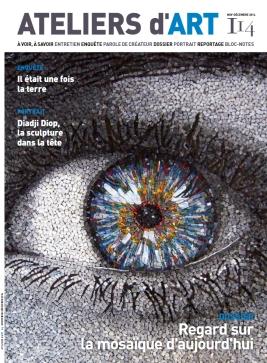 Elodie LESIGNE - Publication - Couverture Ateliers d'Art de France 114