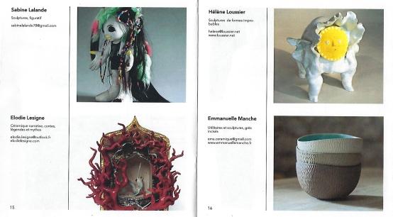2018 - 04 AVRIL - Biennale de Céramique Contemporaine en Vexin - Intérieur