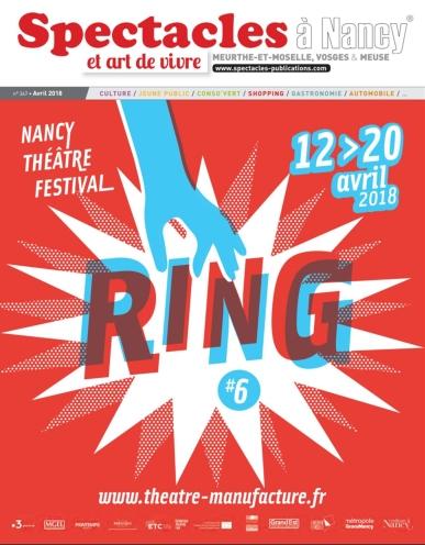 2018 - 04 AVRIL - Spectacle et Art de vivre Nancy - Couverture
