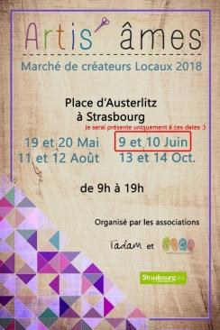 Artis'âmes - 9 et 10 Juin 2018