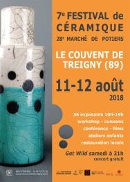 2018 - Festival Céramique - Couvent de Treigny