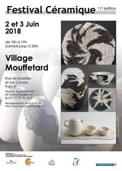 Festivale Céramique Village Mouffetard 2018