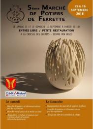 2018 - Marché de potiers - Ferrette