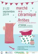 09 Septembre - Marché des potiers Antibes - Recto